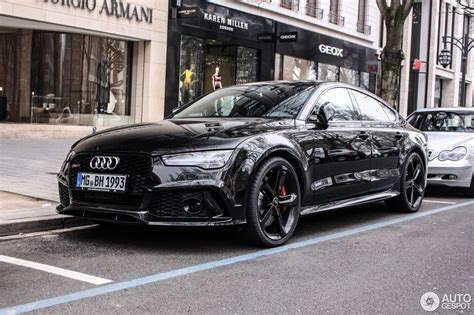 Audi S7 Wei by Audi Rs7 Sportback 2015 29 April 2015 Autogespot