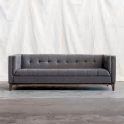 sofa modern atwood sofa by gus modern direct furniture modern