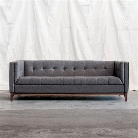 modern couches and sofas atwood sofa by gus modern direct furniture modern