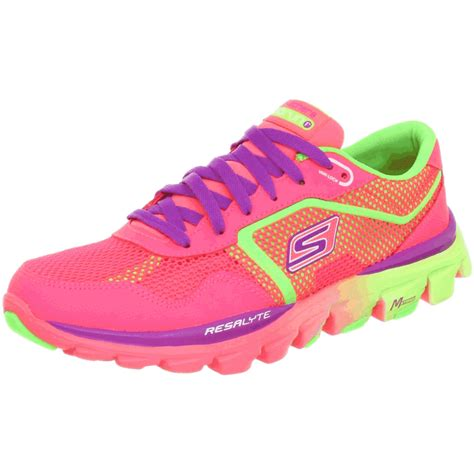 running shoes oxford s neon running shoes skechers s go run ride