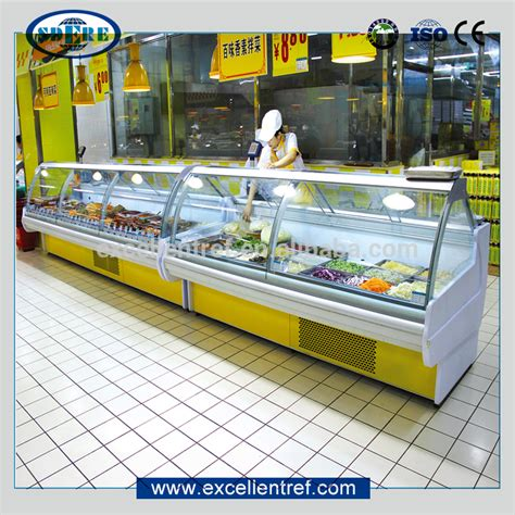Counter Top Salad Island Salad Bar Mh1570fl4t wholesale display cases refrigerated buy best display cases refrigerated from china
