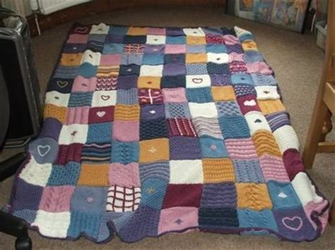 Knitting Pattern For Patchwork Blanket - knitted patchwork blanket knits and kits juxtapost