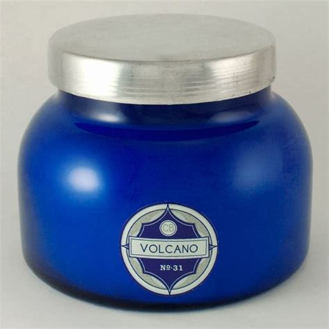 Aspen Bay Blue Candle Volcano aspen bay blue volcano candle