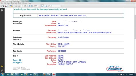 Icao Address Lookup What To Do When Bag Is Delayed File Property Irregularity Report Pir Loyaltylobby