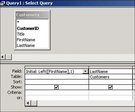function of web layout view using string functions in your access sql queries