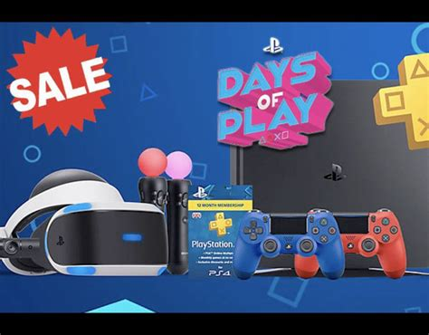 playstation 4 sale ps4 prices slashed savings from days of play