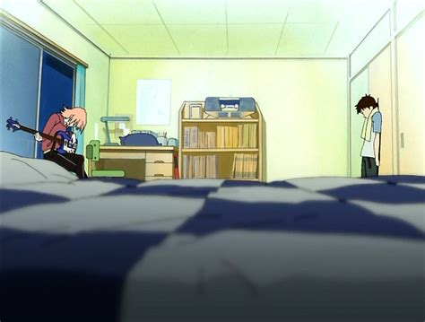 anime wallpaper for your room 3d anime background flcl urban exile