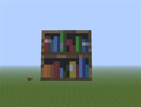 16 x 16 bookshelf minecraft project