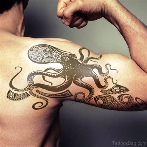 kraken tattoo on shoulder 42 incredible kraken tattoos on shoulder
