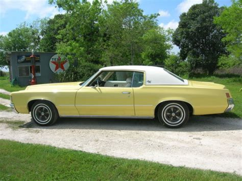 Pontiac Grand Prix 1972 by Pontiac Grand Prix Coupe 1972 Yellow And White For Sale