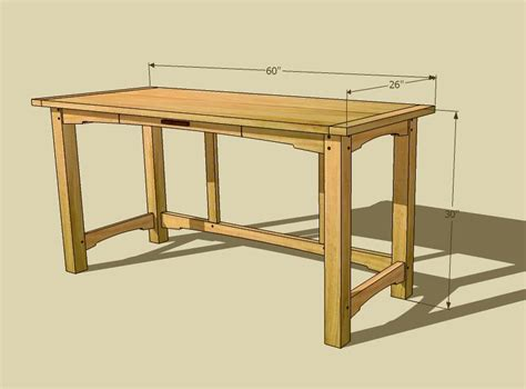 desk plans pdf diy computer desk plans dimensions download craftsman