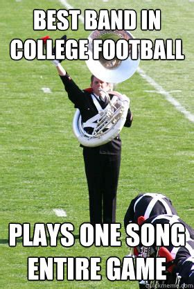 Funny College Football Memes - osu band memes quickmeme