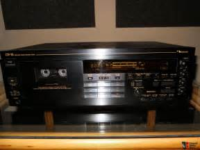 cassette deck nakamichi nakamichi cr7 cassette deck photo 224029 canuck audio mart