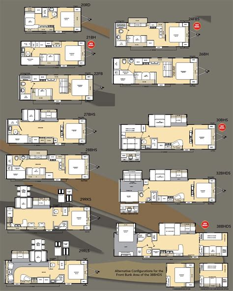 Coachmen Rv Floor Plans by Coachmen Catalina Travel Trailer Floorplans Large Picture