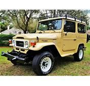 1985 Toyota Land Cruiser FJ40/ BJ40 RARE DIESEL For Sale