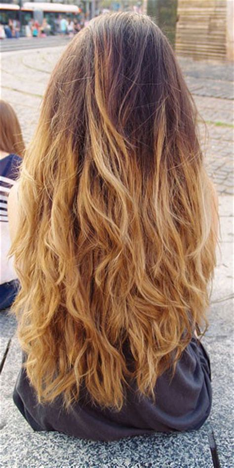 types of ombre hair color ombre hair style color trend
