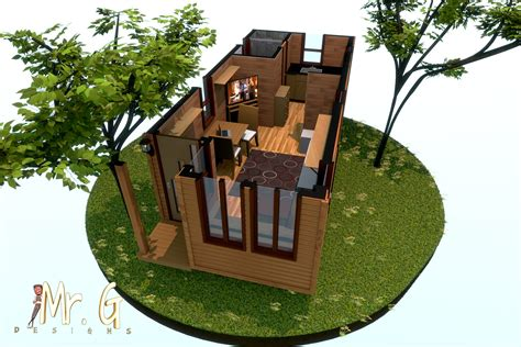 3d Floor Plans by Garrett S Tiny House 3d Floor Plan Model