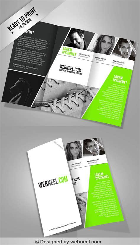 4 Corporate Ttrifold Brochure Template Freedownload Printing Brochure Templates Corporate Brochure Design Templates