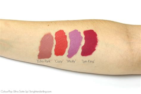 Best Shades Of Orange New Colourpop Ultra Satin Lip Review Brighter Darling