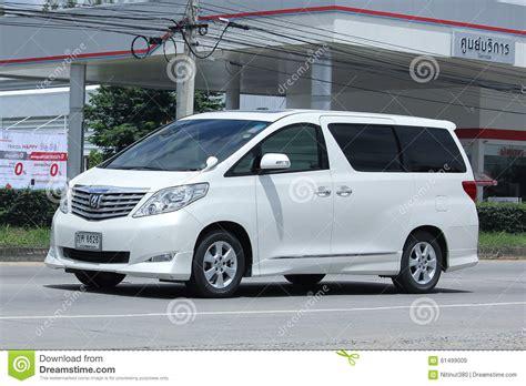 toyota family car thailand toyota van autos post