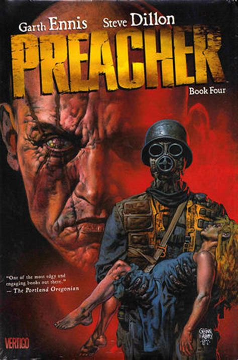 Preacher Book Three By Garth Preacher Book 4 By Garth Ennis
