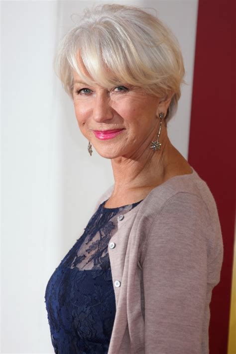hairstyles for women over 50from loreal helen mirren short hairstyles best hair style