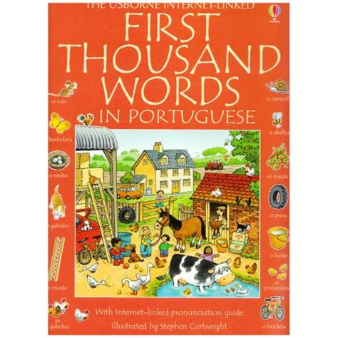 first thousand words in 0746023073 usborne first thousand words in portuguese babyonline