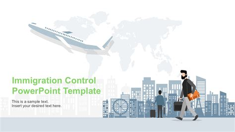 Immigration Control Powerpoint Template Slidemodel Where To Powerpoint Templates