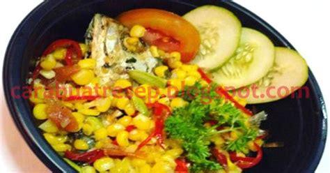 membuat tumis ikan peda jagung manis resep masakan