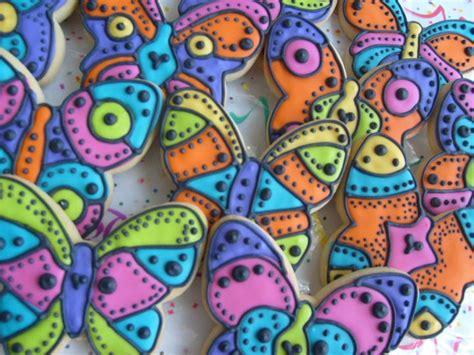 tropical butterflies butterfly cookie favors butterfly