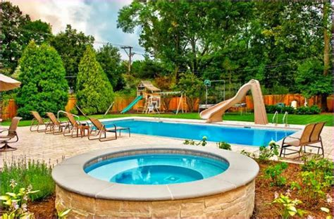 cool backyards with pools inground swimming pool designs best kidney shaped inground swimming pool designs for