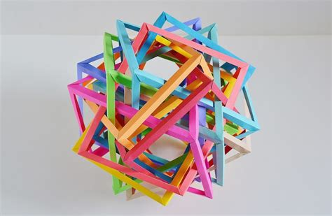Interlocking Origami - contemporary origami artists take paper folding to new levels