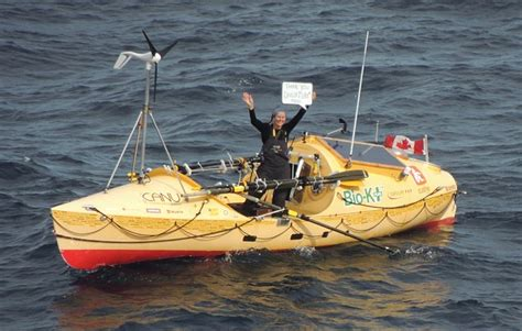 pedal boat across atlantic queen mary 2 delivers supplies to solo woman rower myl 232 ne