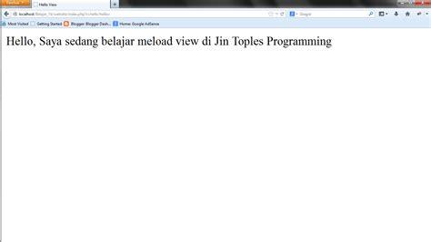 yii layout title cara load view di yii framework jin toples programming