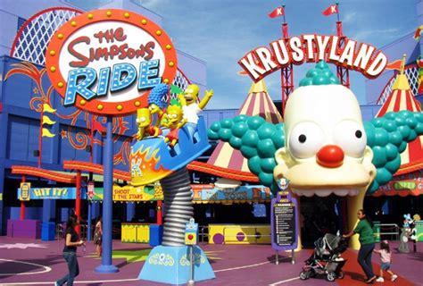 theme park on the simpsons universal studios orlando theme park tips trip florida