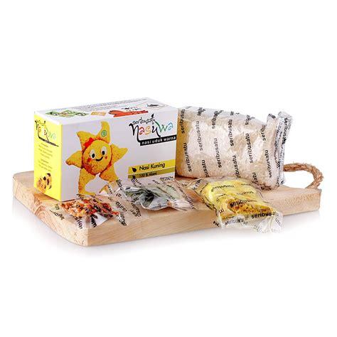 Nasi 1001 Uduk Kuning 250 Gr nasi kuning instan 1001 250 gr by liwet1001