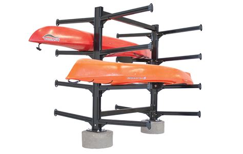 Kayak Rack For by Commercial Heavy Duty Aluminum Storage Racks For Kayaks Canoes Sup Boards