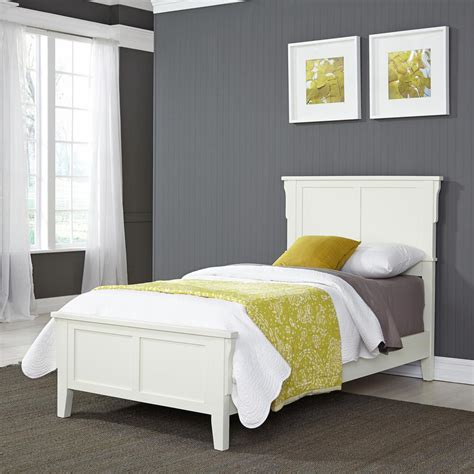 Bed Frame Styles by Home Styles Arts And Crafts White Bed Frame 5182 400