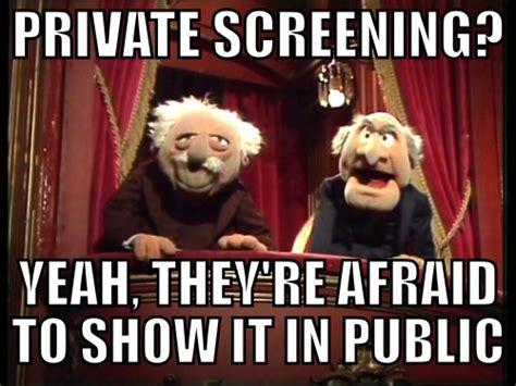 Statler And Waldorf Meme - muppet memes