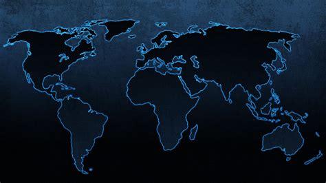 Blue continents maps world map wallpaper   (45072)