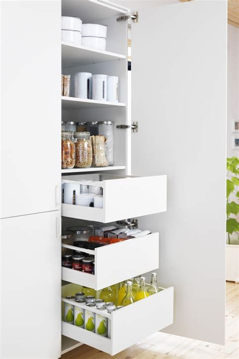 Kitchen Storage Furniture Ikea Best 25 Ikea Kitchen Storage Ideas On Ikea Kitchen Organization Ikea Small Kitchen