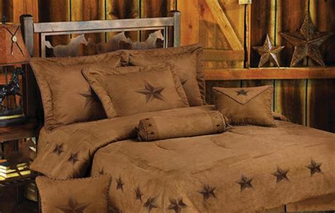 texas bedding set rustic lone star 7 piece texas comforter bedding sking