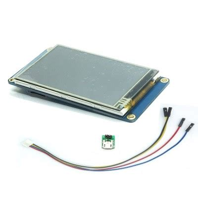 Nextion 2 8 Hmi Uart Lcd Tft Touchscreen 320x240px For Arduino Rasp 3 2 quot nextion hmi intelligent smart usart uart serial touch tft lcd module display panel for