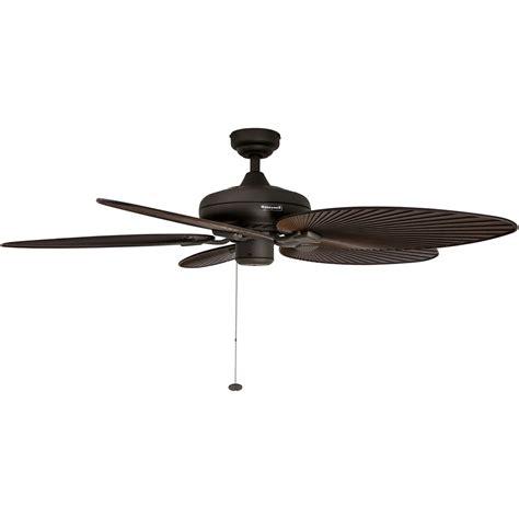 palm blade ceiling fan honeywell palm island ceiling fan bronze finish 52 inch