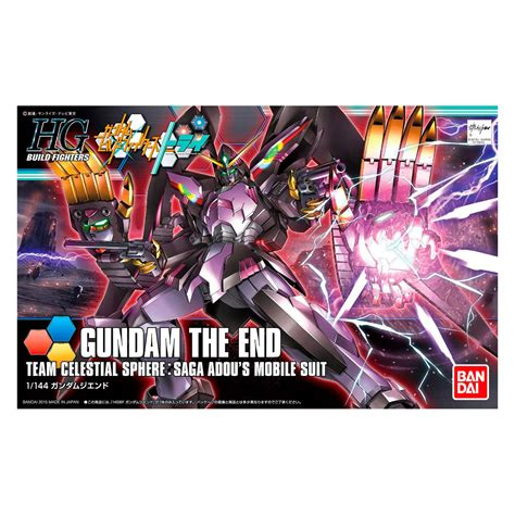 Bandai Hg Gundam The End bandai 1 144 hg gundam the end at hobby warehouse