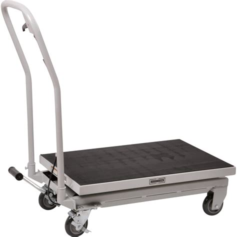 hydraulic table cart home depot roughneck hydraulic table cart 500 lb capacity