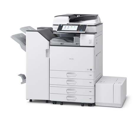 mp an ricoh mp 4054 b w multifunction printer copyfaxes