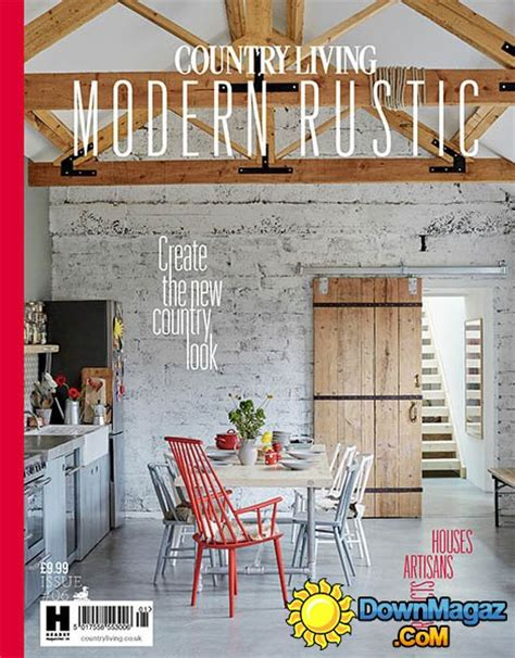 country living modern rustic issue