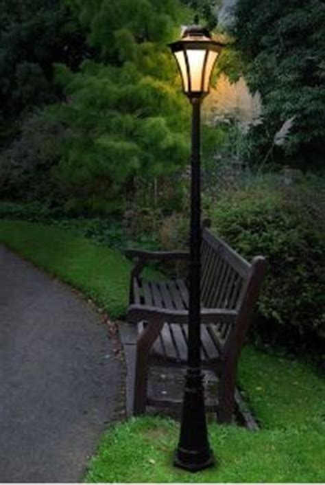solar light posts for driveways a bench seat and l along side the castle driveway