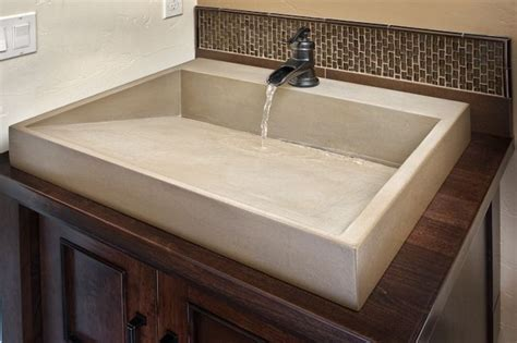 how to a cement sink best 25 concrete sink bathroom ideas on